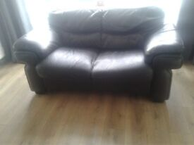 Free sofa two seater leather