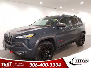 2016 Jeep Cherokee Trailhawk|4x4|CAM|Leather|NAV