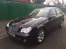 Mercedes Benz C CLASS/ Semi-Auto/ Saloon/ 2005/ Petrol 1.8