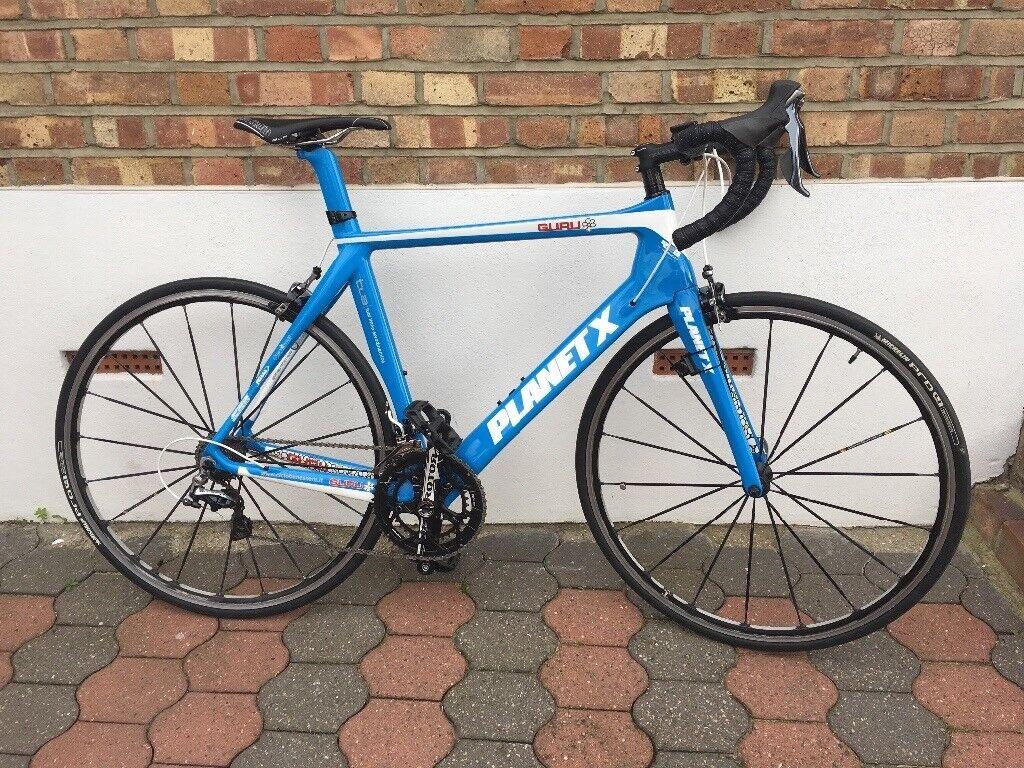Planet X carbon n2a guru aero bike dura ace 9000 mavic krysium as new