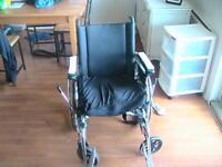 wheelchair almost brand new. asking $100