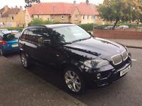 Black BMW X5 Xdrive 35D Msport 5S twin turbo