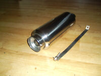UNIVERSAL SPORTS STAINLESS STEEL EXHAUST BACK BOX NEW