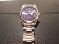 Gents Stainless Steel Wrist Watch