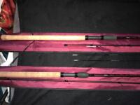 Pair of drennen rods (feeder, float) mint condition