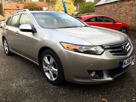 HONDA ACCORD 2.2 DIESEL , TOP OF RANGE NEW SHAPE, FULL HONDA HISTORY STUNNING!!!!