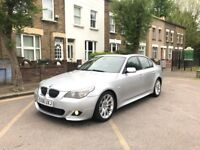 BMW 5 Series 3.0 535d M Sport 4dr AUTOMATIC full service histroy mot sat nav full black leather