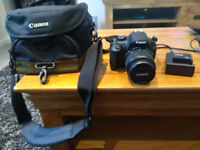 Canon EOS1200D DSLR Camera with bag & charger