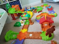 Toot Toot Safari set with extra animals and track