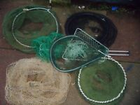 Job Lot Fishing/Landing Nets.
