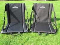 2 x Padded Anywhere Chairs - Brand New and unused