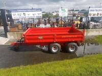 8 ton tipper trailer 13x7