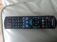 Panasonic blue ray player/HDD recorder remote
