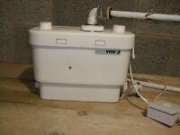 SANIFLO VITE 3 Kitchen shower washing machine pump free uk mainldnd delivery