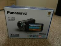 Panasonic camcorder in new condition