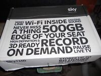 sky +hd box no card white
