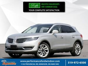 2018 Lincoln MKX Reserve ***CAP UNIT, adaptive cruise, NAV***