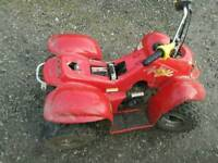 50 cc electric start quad