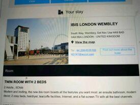 Ibis Wembley room 14/12/18- 15/12/18