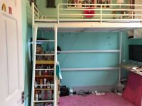 Fantastic high bed! Loved bed but teen changing room so wants new low bed. In great condition