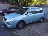only 2007 Kia Carens Automatic Diesel 7 Seats only 70000 miles in good condition