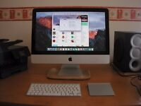 "Excellent Apple iMac 21.5"" (mid 2010) i3 4GB Memory 500GB HDD in Brynmill"