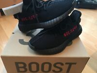 """ADIDAS YEEZY BOOST 350 V2 """"BRED"""" SIZE 4.5UK 100% AUTHENTIC"""