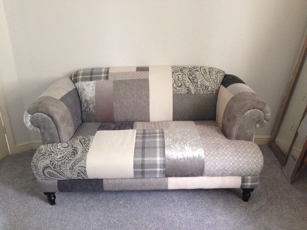 Dfs Midi New Aspen Patch Sofa