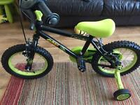 Boys bike apollo claws 3-5 age group. Used once