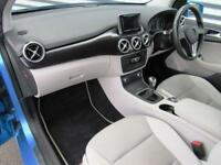 Mercedes-Benz B Class B180 CDI ECO SE (blue) 2014-10-31