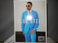 The Blue Steel Adult Opposuit red & blue available