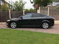 2010 Ford Mondeo 2.2TDCi Titanium X Sport Black. 5 door 6 speed diesel. Only 43000miles