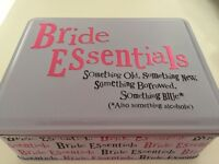 Bride essentials metal tin by 'the bright side' - wedding/bridesmaids/gift