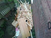 Free Scrap Wood / Timber To Be Collected.