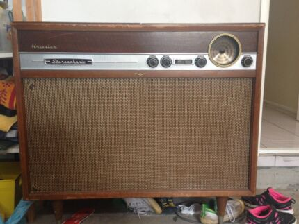 KRIESLER STEREOPHONIC Stereo radiogram .  Thornlands Redland Area Preview