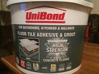 Floor Tile Adhesive and Grout (unibond)