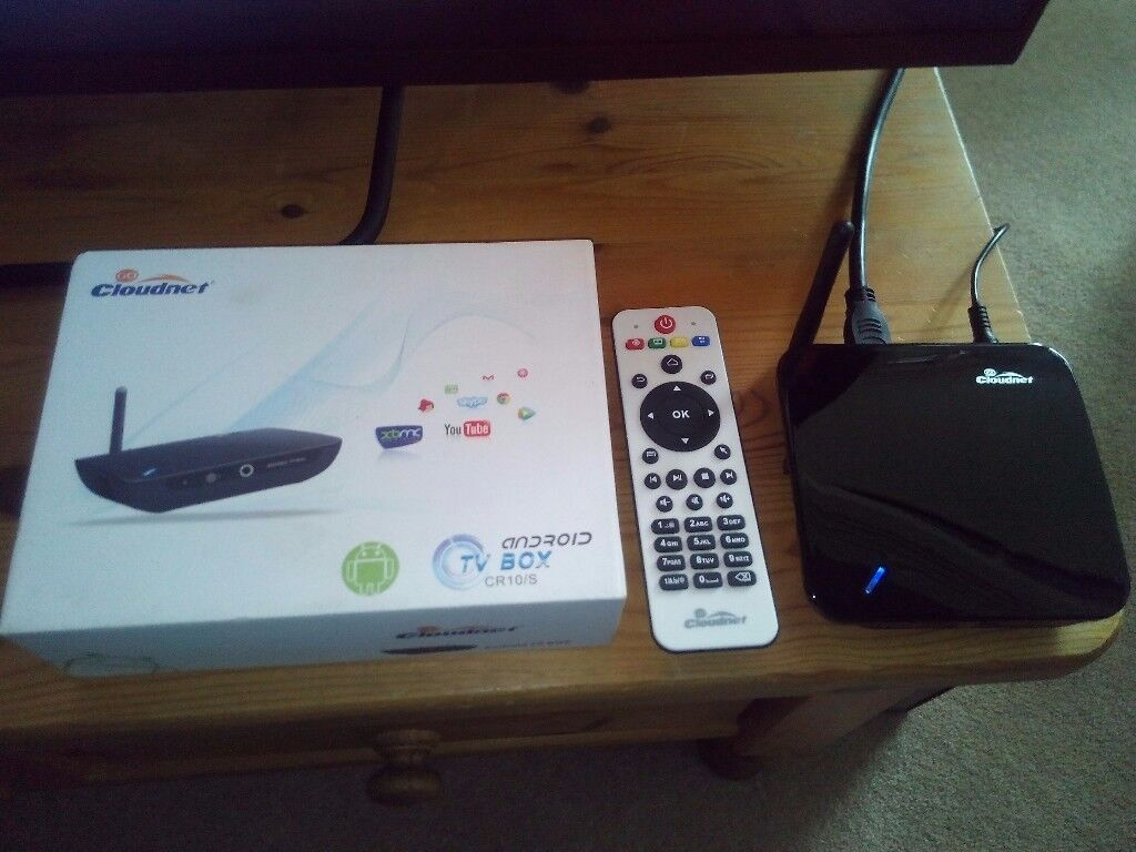 Android TV Box and 3x Sky Boxes