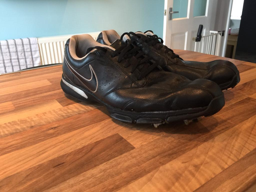 Nike golf shoes, size 12