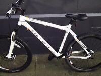 Carrera Kraken XC specific geometry bike - hydraulic disc brakes - 27 speed