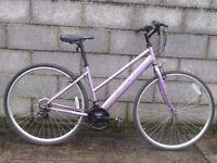 ladies bike 700c hybrid apollo