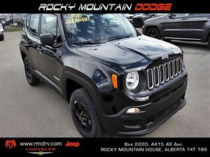 2015 Jeep Renegade Sport 4x4 / Back Up Camera