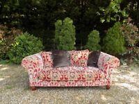 Beautiful Tetrad Elgar Claret Enigma Fabric Midi 2-3 Seater Sofa
