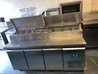 Commercial topping salad fridge catering Resturant hotels pubs equipment