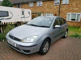 Silver Ford Focus for a quick sale!