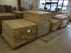 Large choice of stair components oak and maple
