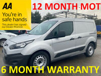 Ford, TRANSIT CONNECT, Panel Van, 2015, Manual, 1560 (cc)***12 MONTH MOT***FINANCE AVAILABLE***