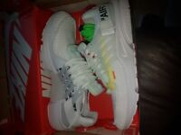 Off white nike air preso trainers