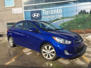 2013 Hyundai Accent GLS! Auto! Sunroof! 4 Doors!
