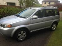 HONDA HRV 1.6 4x4 4wd Long mot FSH may swap