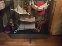 ferplast cage awesome condition rat degu chinchilla ferret mouse
